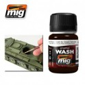 Dark Brown Wash For Green Vehicles -AMMO