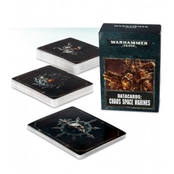 Datacards: Chaos Space Marines