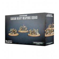 Astra Milliltarum: Cadian Heavy Weapons Squad